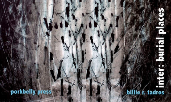inter: burial places by Billie R. Tadros (cover: Jolene Costello Hartig)