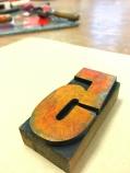 vintage wood type