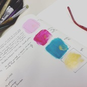 ink colors & edition notes